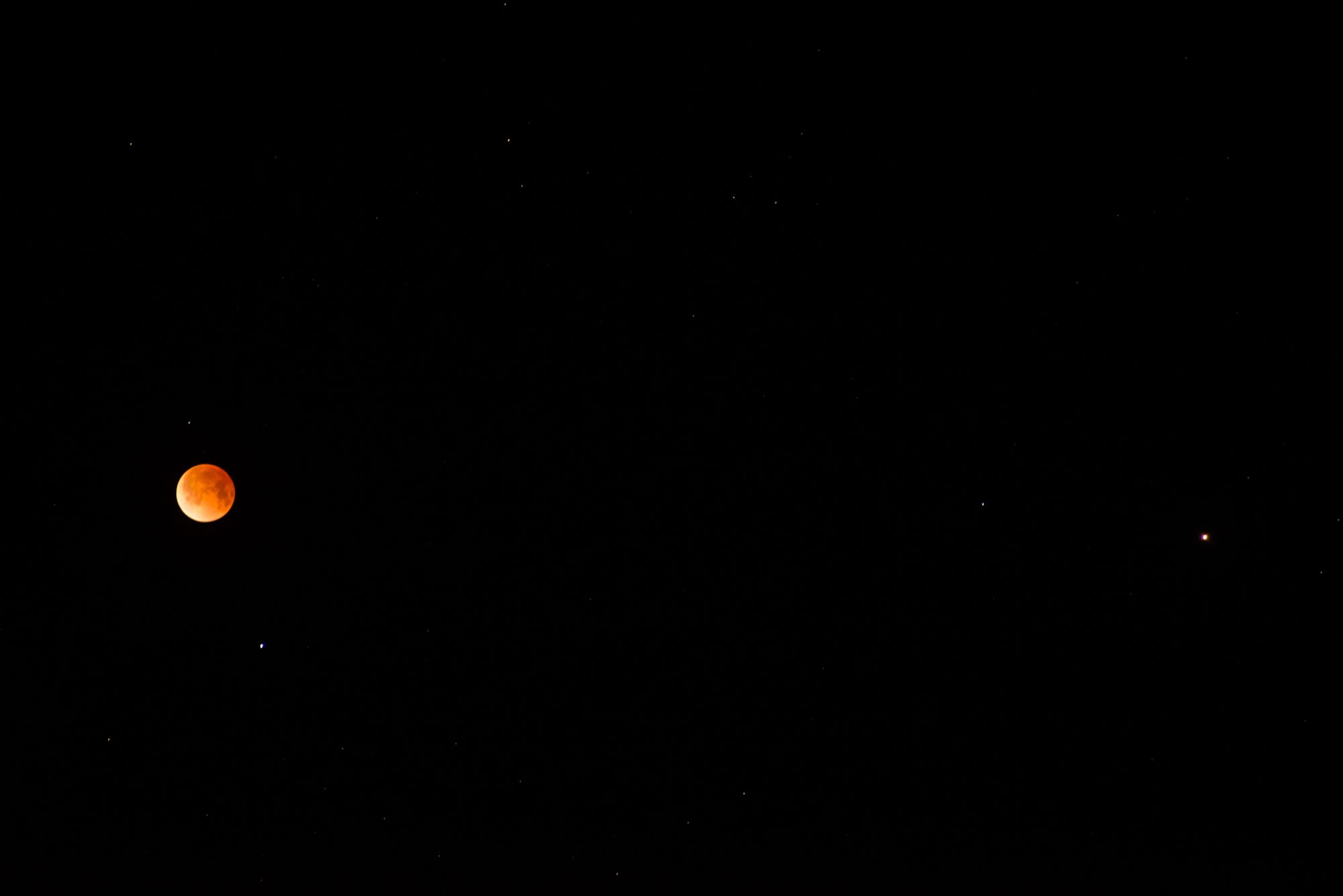 4-15-14 Lunar Eclipse and Mars