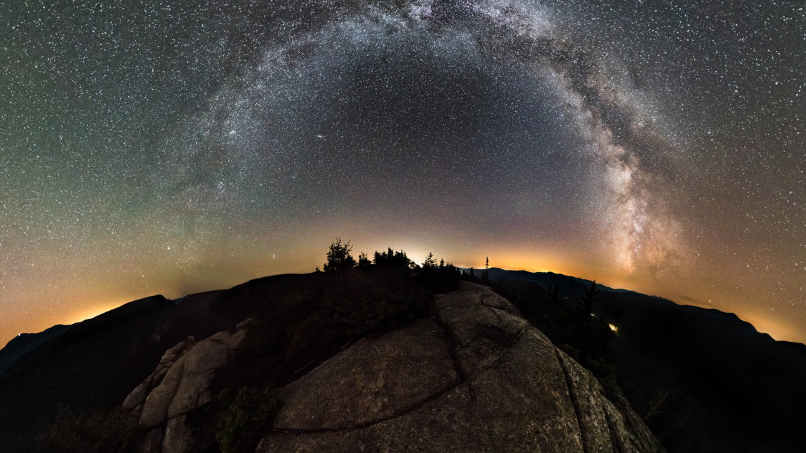 VR Photospheres – Mount Crawford at Night