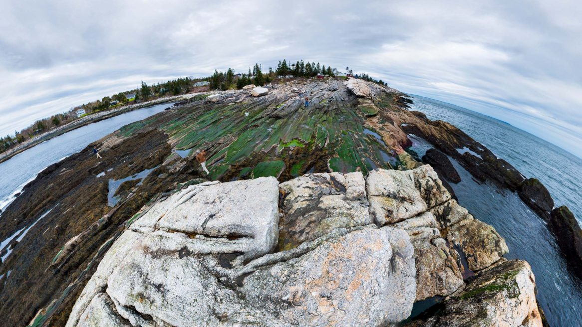 VR Photospheres – Pemaquid Point