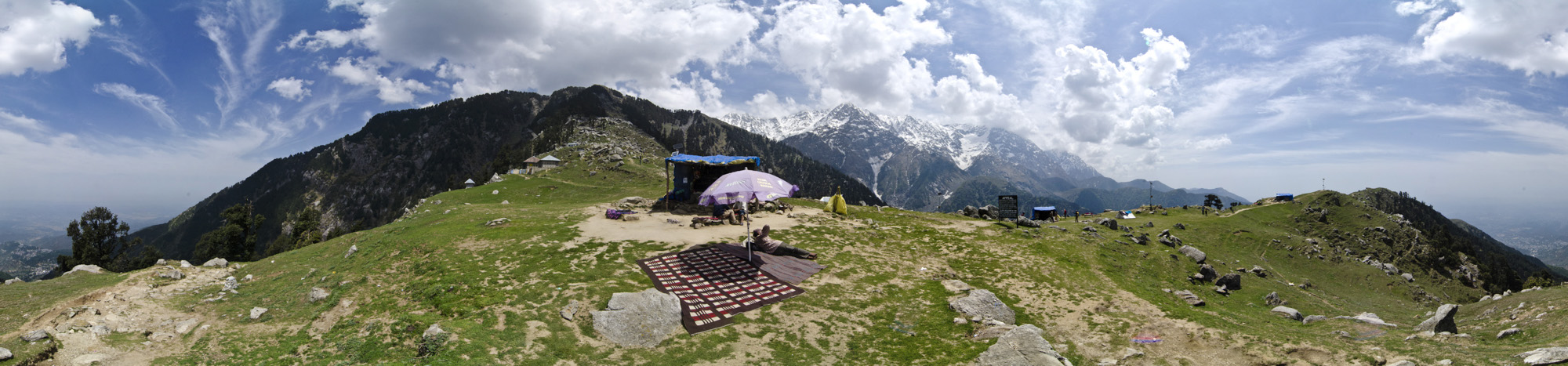 Triund Tea Shop - Himachel Pradesh, India